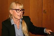 Kateřina Macháčková rozdávala také autogramy