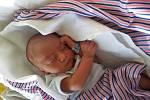 Josef Švach, Vrátno. Narodil se 7. září, vážil 2, 77 kg a měřil 48 cm. Maminka Natálie a tatínek Vojtěch.
