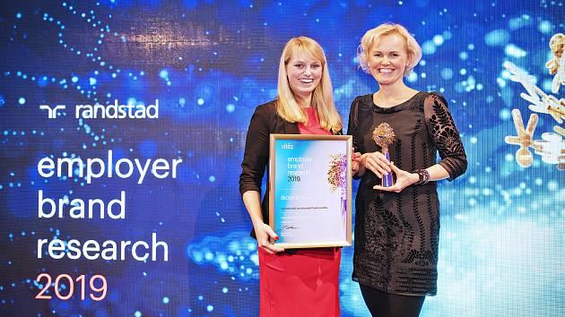 Škoda Auto získala cenu Randstat Award 2019 jako Nejatraktivnější zaměstnavatel v ČR.