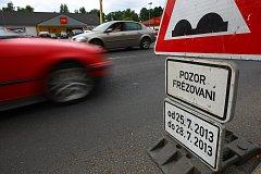 Po dobu stavby se místní budou muset vyrovnat s dopravními omezeními.