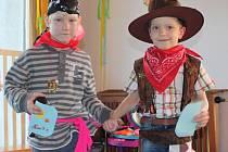 Maškarní karneval v Mateřské škole Dolní Krupá