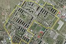 Zóna IPRM Mladá Boleslav - mapa