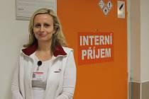 Andrea Šťastná, vedoucí lékařka interního příjmu