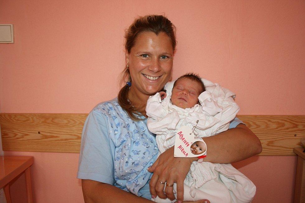 Nikolka Budaiová se narodila 24. května Kláře a Janovi ze Všetat. Nikolka měřila 48 cm a vážila 2,6 kg.