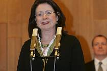 Předsedkyně Poslanecké sněmovny Parlamentu České republiky Miroslava Němcová