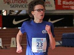 Jakub Kolín na trati 1 500 metrů obsadil čtvrté místo v osobním rekordu 4:29.85.
