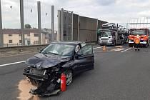Nehoda na D10.