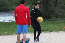 Kondiční trénink futsalistů Malibu Mladá Boleslav