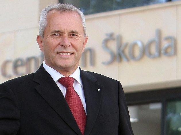 Předseda představenstva Škody Auto Reinhard Jung.