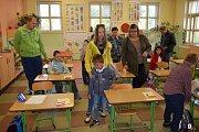 První školní den na Boleslavsku.