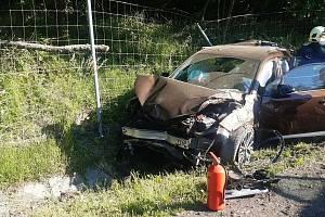 Vážná dopravní nehoda u Tuřic na Mladoboleslavsku uzavřela ve čtvrtek před 8. hodinou ráno dálnici D10.