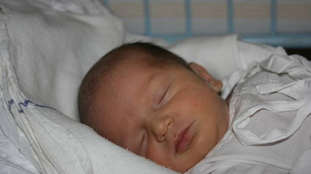 Rodina Dany, Martina a Patrika z Dobré Vody se 11. 11. rozrostla o dalšího člena – Víťu Vávru.