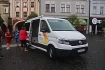 Nový automobil pro terénní sociální službu