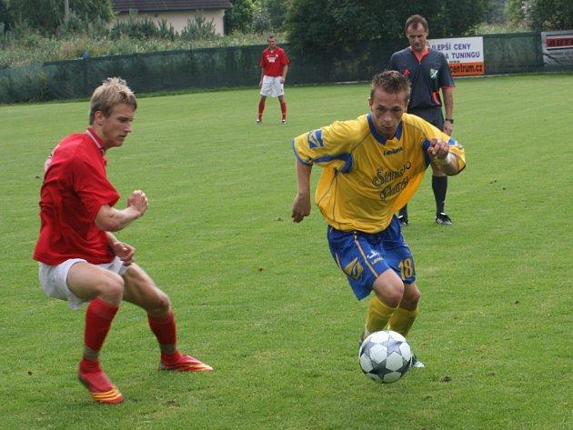 Přátelské utkání Ovčáry - Varnsdorf
