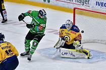 V zápase 45. kola hokejové extraligy zamíří Mladá Boleslav na led Zlína.