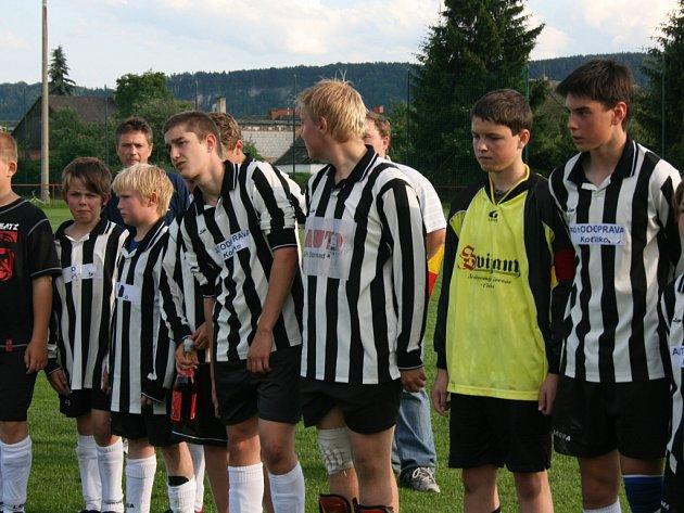 Finále žákovského Šampion Cupu: Jizeran Doubrava - SKP Mladá Boleslav