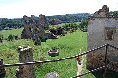 Výlet na zříceninu hradu Zvířetice.