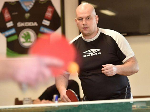 Ve Sportovním areálu Kolomuty se uskutečnil turnaj ve stolním tenise.