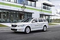 Elektrická Škoda Octavia Green E line