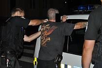Údajný útočník s mačetou byl zadržen.