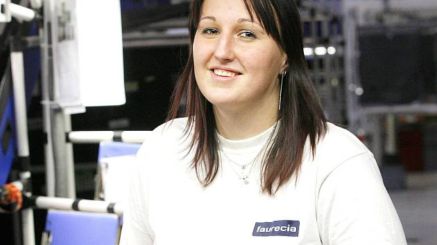 Zaměstnanci firmy Faurecia. Ilustrační foto.