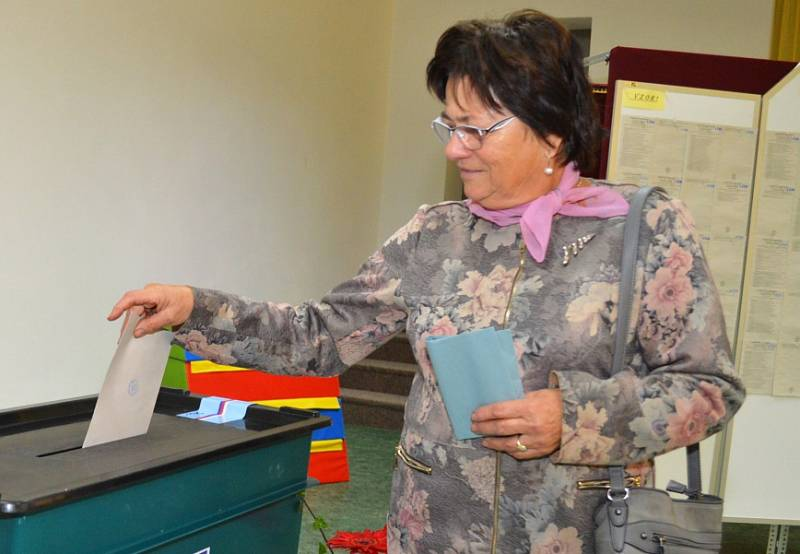 Volby na Mladoboleslavsku – obec Bukovno.