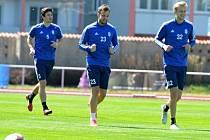 Fotbalisté FK Mladá Boleslav se sešli na prvním tréninku po vyhlášení nouzového stavu
