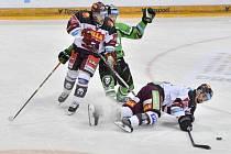 Mladá Boleslav porazila na domácím ledě Spartu 4:2.
