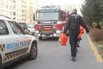 Zásah záchrannářů u muže ve velmi vážném zdravotním stavu.