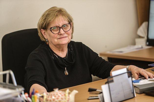 Starostka Brodců na Mladoboleslavsku Edita Nová