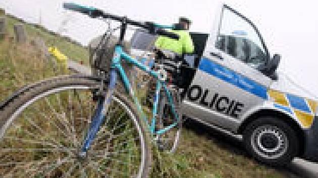 Ilustrační foto z nehody cyklisty
