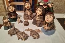 Z výstavy betlémů v Hrnčířském domě Zvířetice.