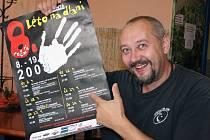 Petr Matoušek, herec, režisér, principál Divadýlka na dlani Novanta a ředitel Městských kulturních zařízení Bělá.