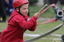 Malí hasiči berou soutěže Boleslavského poháru naprosto vážně.
