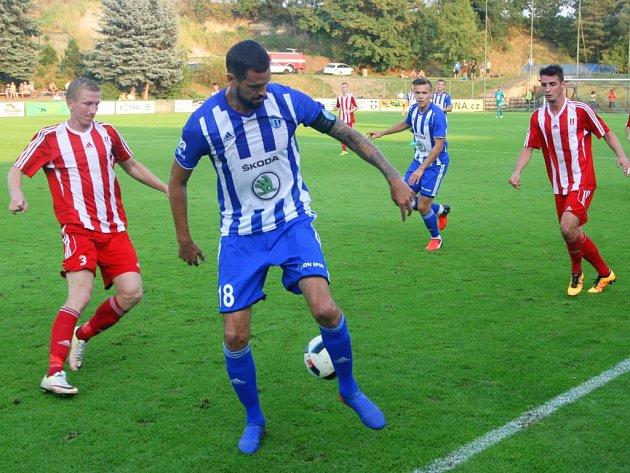 MOL Cup: SK Zápy - FK Mladá Boleslav (1:2).