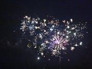 Vítání nového roku v Mladé Boleslavi.
