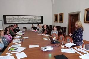 Mas pořádal workshop na boleslavském magistrátu