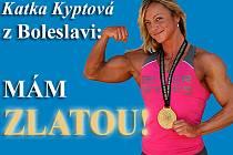 Kateřina Kyptová - pouták.