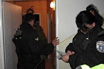 Páreček musela uklidnit Městská policie.