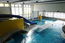 Krytý bazén v Mladé Boleslavi.