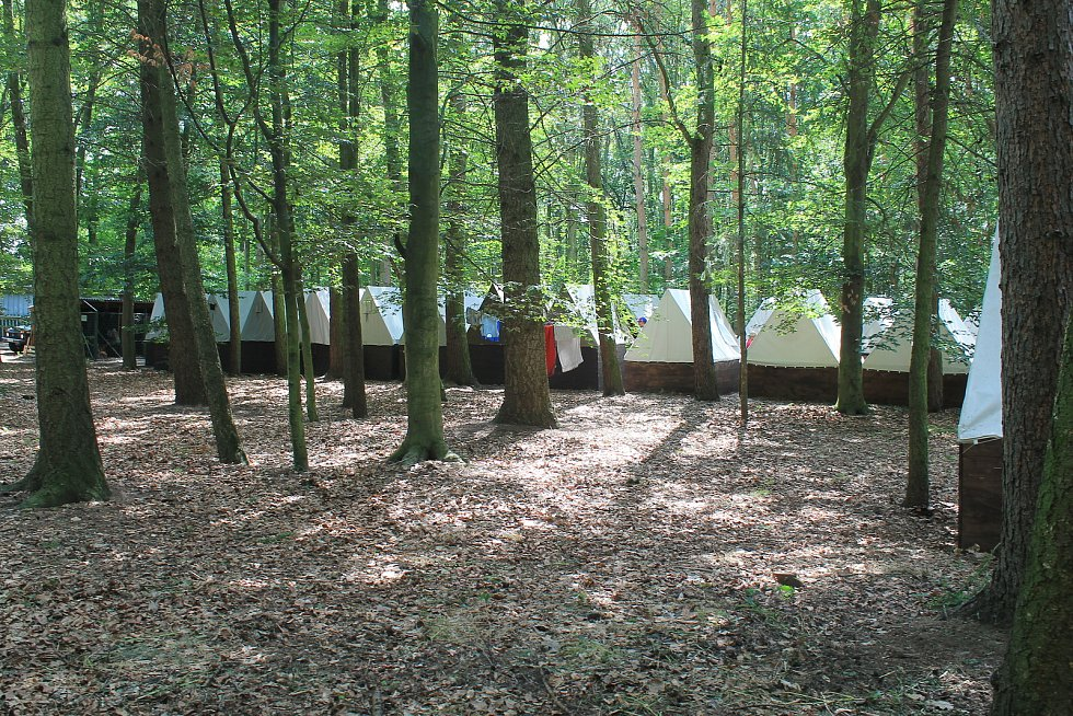 Tábor v Benátkách nad Jizerou (ilustrační foto).