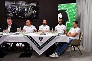 BK Mladá Boleslav, tisková konference.