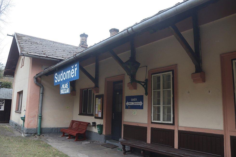 Sudoměř, nádraží.