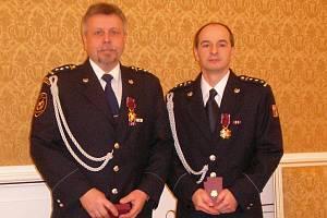 Mladoboleslavští hasiči převzali ocenění od Polského prezidenta Komorowskiho.