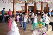 Ze života Chocnějovic, dětský karneval.