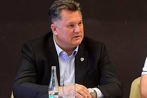 Jan Plachý, předseda představenstva BK Mladá Boleslav.