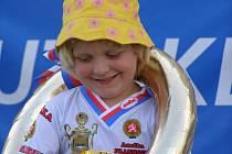 Favoritkou ve své kategorii bude bezesporu boleslavská Anička Francová.