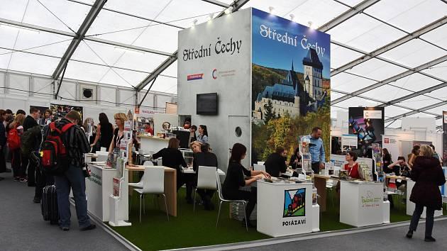 Středočeský kraj na veletrhu cestovního ruchu Holiday World v pražských Holešovicích.