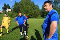 Ladislav Minář vedl trénink FC Krásný Les