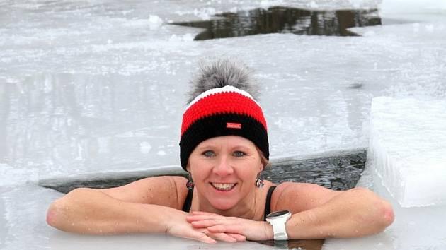 Z focení ve sněhu a ledu